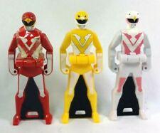 Jetman Ranger Key Set Gokaiger Yellow Owl White Swan Red Hawk Choujin Sentai WOW