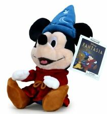 Official Disney Fantasia Sorcerer Mickey Mouse Soft Plush Stuffed Toy Animal