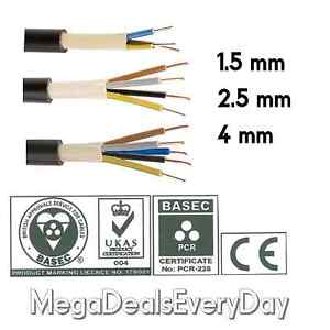 3 4 5 Core PVC Outdoor Hi Tuff Cable NYY-J 1.5 2.5 4 MM Outside Pond wire