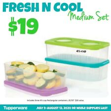 Tupperware Fresh and Cool Medium Set