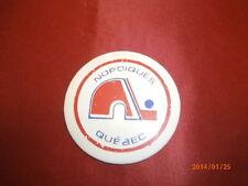 Vintage Large 1980's Nordiques de Quebec Pin Macaroon, Button Rare