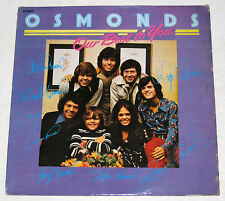 Philippines THE OSMONDS Our Best To You LP Record