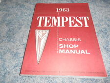 1963 PONTIAC TEMPEST CHASSIS SHOP SERVICE MANUAL FACTORY ORIGINAL OEM  NICE