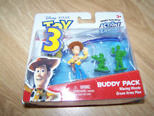 Disney Toy Story Action Links Woody & Army Men PVC Figure Toys Cake Topper New