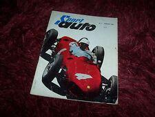 SPORT AUTO N° 1 Janvier 1962 Jaguar Type E / Ferrari champion du monde //