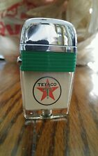 60's Vintage Scripto Vu-Lighter TEXACO LIGHTER(NEVER FIRED) With Tin & paperwork