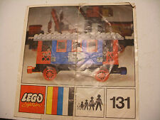 70' RARE anciene notice ORIGINALE instruction manual Lego System Legoland n° 131