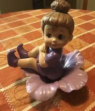 "Pixie Sits on her Flower Petals Figurine -Vintage 1990 Donas style- ""Sweet Tot"""