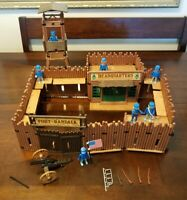 Fort Randall Playmobil 3419 Playset Vintage with Figures (1974) Vintage