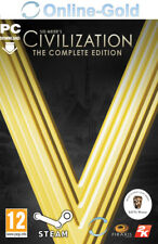 Civilization V 5 Complete Edition - Sid Meier's - PC Steam Download Code - DE