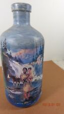 Repurposed Half Gallon Water DISPLAY BOTTLE - Indians WaterFalls