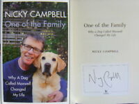 Signed Bookplate in Book One of the Family by Nicky Campbell 1st Edn Hdbk 2021