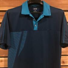 EUC Mens Adidas Adizero Polyester Short Sleeve Golf Athletic Polo Shirt Medium