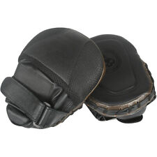 Mini Guantes Boxeo Foco Ponche Pared-Marrón/Negro