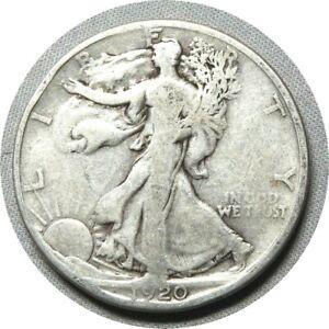 elf Walking Liberty Half Dollar 1920 S  038