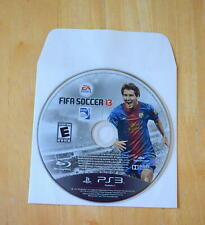 FIFA Soccer 13 (Sony PlayStation 3, 2012) PS3 Game DISC ONLY