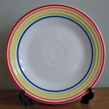 Fiesta Rainbow Luncheon Plate Deptartment Store Exclusive NEW Scarlet Lapis