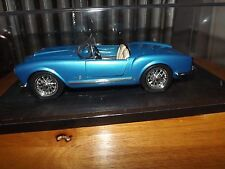 1955 LANCIA AURELIA B24 SPIDER, BLUE, BBURAGO, NO BOX, DISPLAY CASE INCLUDED