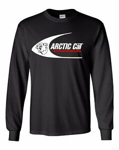 ARCTIC CAT SWOOSH Vintage Snowmobile Long Sleeve T shirt Sizes to 5XL