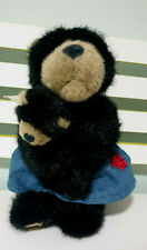 Boyds Ma With Junior Teddy Bear Plush Toy! Soft Toy About 30Cm Tall With Tag!