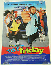 NEXT FIRDAY ICE CUBE 27X40 DS MOVIE POSTER ONE SHEET NEW AUTHENTIC