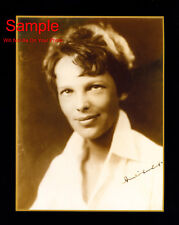 AMELIA EARHART Signed Autographed Reprint 8x10 Photo