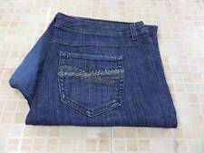 STYLE & Co TUMMY CONTROL WOMENS 3/4 JEANS SIZE 16W 36W 20L GOOD SKU J643