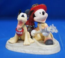 Mickey Mouse Fireman Courage Under Fire Figurine Disney Precious Moments 132700