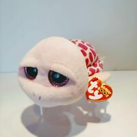 """Shellby the Pink Turtle - Ty Beanie Boo - Style 36110 - Regular 6"""" 15cm - NEW"""