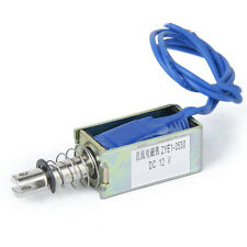 DC 12 V Ouverte Electrovanne de Chassis Electro-aimant Solenoide ZYE1-0530 WT