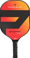 NEW Paddletek Bantam TS5 Pickleball Paddle Polymer Red Wildfire