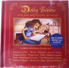 """""""DOLLY BIBLE"""" LIVRE + CD (CONTE MUSICAL ILLUSTRÉ) Format Poche 14 x 14cm NEUF"""