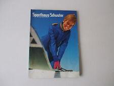 Sporthaus Schuster München Versandhauskatalog Winter 1968/69