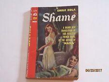 Shame by Emile ZolaRomance Fiction GGA Paperback jk169