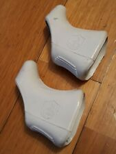 Campagnolo Super Record brake levers white hoods