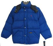 Ralph Lauren Boys Sapphire Star Blue Down Puffy Jacket (S-8) NWT