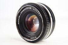 Nikon Nikkor 50mm f/1.8 Ai-S Prime Pancake Lens V19