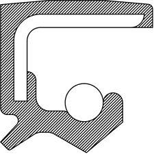 National Oil Seals 710156 Power Strg Pump Shaft Seal