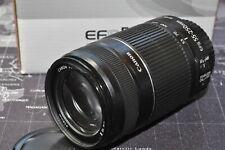 Canon EF-S 55-250mm IS II stabilisiert sehr gut Tele-Objektiv 2J.Gewährl/Händler