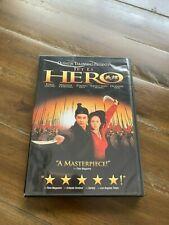 Hero (Dvd, 2004) Jet Li Movie Foreign Language Rated Pg-13 Chinese/Mandarin