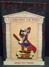 Disney WDW  I Conquered The World Pin Pursuit Goofy