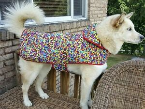 Reversible 3X Dog Raincoat by Cloak & Dawggie