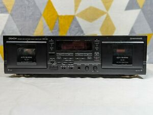 Denon DRW-580 double stereo cassette tape deck