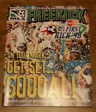 Mls 1998 Freekick Program - Major League Soccer - First Kick '98