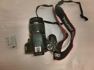 Canon EOS Rebel T3i 18.0MP Digital SLR Camera - Black Kit EF-S 18-55mm...