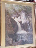 Cuthbert Rigby ARWS Original Watercolour Signed 1880 Lake Artists Society