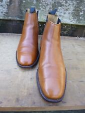 CHEANEY / CHURCH CHELSEA BOOTS – BROWN / TAN – UK 7.5 – GRANGE - EXCELLENT COND