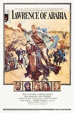 Alec Guiness Lawrence Of Arabia 1963 Film Vintage Cinema Poster Print Picture A4