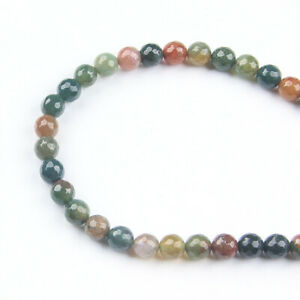 Round Natural Faceted Agate Gemstone Loose Beads 6mm 30PCS
