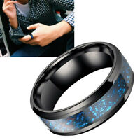 Titanium Stainless Steel Wedding Party Silver Celtic Dragon Men's Band Rings